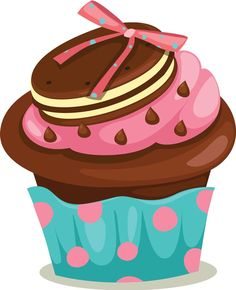 Cute Cliparts ❤ ●••°‿✿⁀Cupcakes‿✿⁀°••●