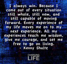 I always win....