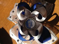 Charm City Chic Couture Cheer ott bow
