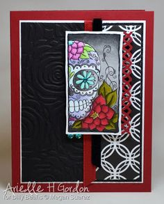 Dilly Beans Inspirations: Day Of The Dead inspiration
