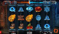 Fire vs Ice Slot Machine har 25 betalingslinjer og 5 hjul. Topp jackpotten er 5000. Temaet av spillet er funnet på hjulene, hvor tingene er for varme eller for kjølige. #FirevsIce #SlotMachine Free Slots, Fire And Ice, Delena, Slot Machine, Arcade Machine