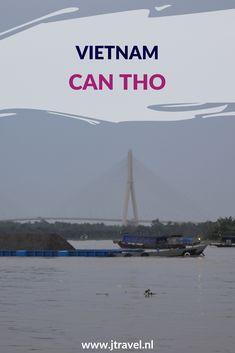 Can Tho is de grootste stad in de Mekong Delta. Can Tho heeft een wandelpromenade, een gerestaureerde Franse markt en een aantal restaurants met een schitterend uitzicht.  Op de promenade staat een standbeeld van Oom Ho. Meer lezen over de Can Tho doe je op mijn website. Lees je mee? #cantho #mekongrivier #vietnam #jtravel #jtravelblog