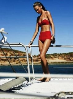 Now and Then Swimwear... retro inspired bikinis and swimsuits