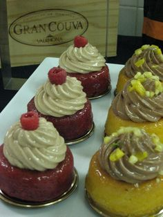 Valrhona french pastries