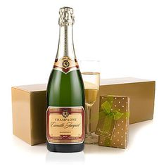 £45.00 - Champagne and Chocolates make a wonderful gift. Our Master Of Wine, Joe Naughlty rates this Camille Jacquet Champagne very highly, and whilst we may not be qualified to comment, we wholeheartedly agree.. We're not formally qualified to talk about the Linden Lady Chocolate Selection either, but we know we love them!