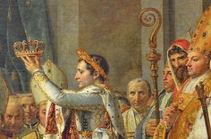 """""""I found the crown of France lying in the gutter. I picked it up with my sword."""" -- Napoleon Bonaparte"""