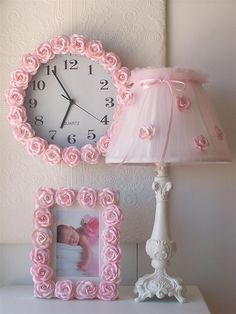 Pink Rose Picture Frame - Home Decor at Belleandjune