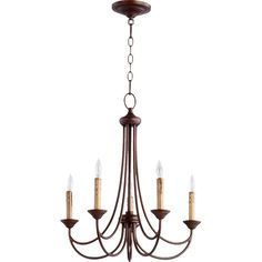 White - Found it at Wayfair - Brooks 5 Light Candle Chandelier ** hanging in bedroom in white**