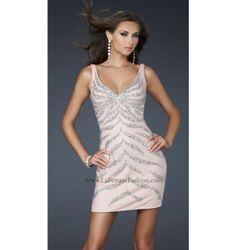 $250.00 LaFemme affordable dress from http://viktoriasdresses.com/ through John's Tailors