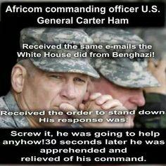 Gen carter ham relieved of duty