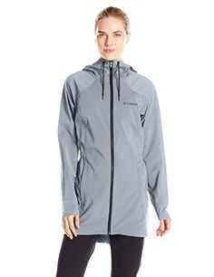 Columbia Womens Sweet As Long Softshell Jacket XLarge Black Heather >>> Check this awesome product by going to the link at the image.(This is an Amazon affiliate link)