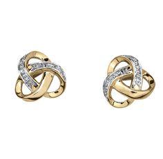 bb3d0e866358 Aretes oro 14k con 4 puntos de diamante Precio boutique  4