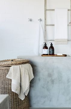 Bathroom goals: keep it simple.