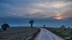 strada di campagna - Colline di San Severino Marche