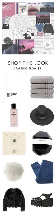 """~ a dumb screenshot of youth  ~"" by falling-for-your-eyes ❤ liked on Polyvore featuring Edition, Christy, Chanel, Dogeared, Miss Selfridge, Nobody Denim and Altuzarra"