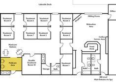 Day Spa Floor Plans | Minnesota Spa Resort Cragun's Resort on Gull Lake Brainerd