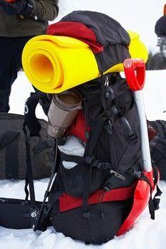 Зимний рюкзак - упаковка.