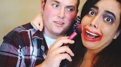 Boyfriend does my makeup???? https://www.youtube.com/user/amparoa90/videos