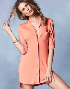 River Island - Fashion Clothing for Women, Men, Boys and Girls Women's Sleep Shirts, River Island Fashion, Victoria Secret Catalog, Nightgowns For Women, Sexy Bra, Fashion Outfits, Womens Fashion, Night Gown, Women Lingerie