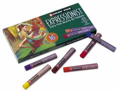 Cray-Pas® Expressionist® Extra Fine Quality Oil Pastels 16-Pack Set