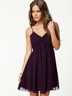 Gingin Dress - Sisters Point - Plum - Party Dresses - Clothing - Women - Nelly.com