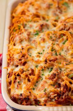 Baked SpaghettiDelish