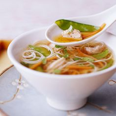 Soy Ginger Chicken Soup