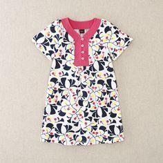 Tea :: Children's Clothing sale girl dresses - Gingko Leaf Dress(sizes 6mos-8yrs)