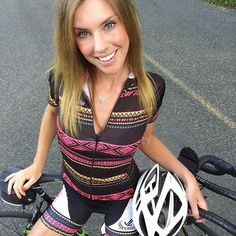 JLVelo Women's Tribal Cycling jersey made in USA with premium fabrics!