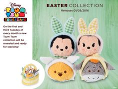 Easter Collection Tsum Tsums Coming Soon