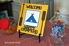 Happy Campers birthday party