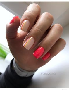 Semi-permanent varnish, false nails, patches: which manicure to choose? - My Nails Fancy Nails, Pink Nails, Cute Nails, My Nails, Star Nails, Stylish Nails, Trendy Nails, Cute Acrylic Nails, Nagel Gel
