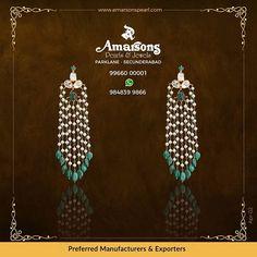 Emerald Diamond Tops ♥️ @amarsonsjewellery Follow 👉