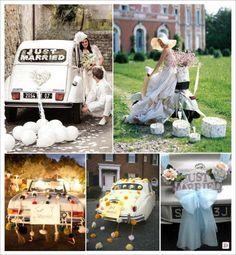 decoration_voiture_mariage_arriere_tulle_boite_conserve_ballons_pompons