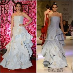 Celebrity Style,gaurav gupta,Aditi Rao Hydari,Sanam Ratansi,Lux Golden Rose Awards 2016