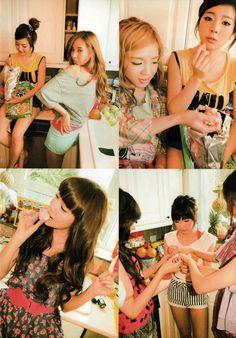 SNSD Photobook - girls' in the kitchen :) #SNSD