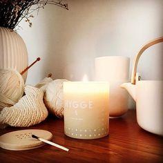 Hygge in our showroom. HYGGE - Danish DNA. #senseofscandinavia #scandinaviandesign #scandinavia #nordic #hygge #hygge #scentedcandles #homefragrance #skandinavisk