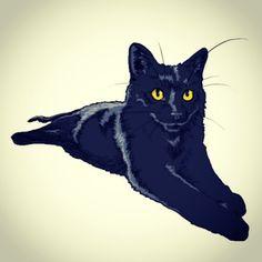 #dailydrawing #drawing #catdrawing #cat #dailydrawings #drawings #catdrawings #cats #냥그림 #냥스타그램 #캣스타그램 #catstagram #neko #고양이 #猫 #ねこ #gato #고양이그림 #instacat #하루한장#취미로고양이그리는아줌마 #blackcat #kuroneko