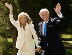 Joe Biden And Wife | Sen. Joe Biden, D-Del., and his wife, Jill, prepare to leave their ...