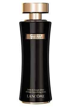Geniale Idee von Lancôme: Die Absolue L'Extrait Ultimate Beautifying Lotion ist ein erfrischendes Gesichtsspray mit der pflegenden Wirkung eines Serums. #lancome