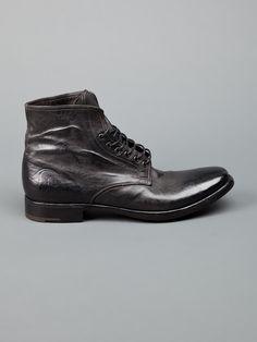 Premiata | Distressed Ankle Boot