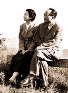 Jiang Qing with Mao.