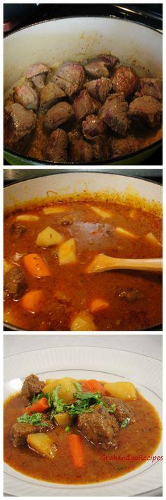ロシアのビーフシチューレシピだそうです。手間がかからなくて、数時間煮こめばいいだけ、とあります。Beef Stew- So delicious! kavardak, кавардак | Russian food, Russian recipes