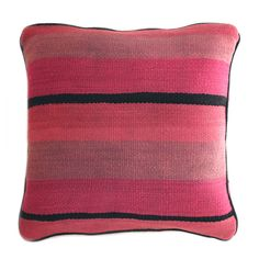 Striped Moroccan Pillow from Baba Souk