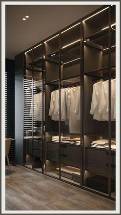 Wardrobe Room, Wardrobe Design Bedroom, Master Bedroom Design, Master Suite, Dressing Room Closet, Dressing Room Design, Wardrobe Door Designs, Closet Designs, Modern Luxury Bedroom