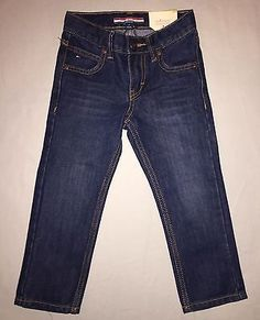 BOYS 3 3T TOMMY HILFIGER FREEDOM SLIM FIT JEANS NWT