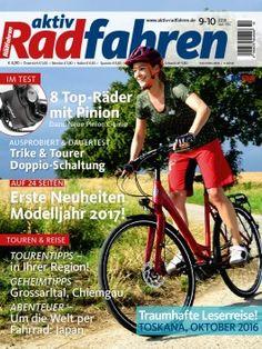 Cover der aktiv Radfahren-Ausgabe 9/10-2016