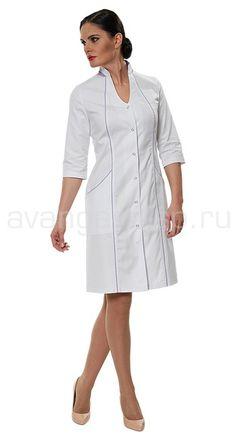"""Халат женский LL1103 Lantana / Халаты / Женская одежда """"Lantana"""" / Медицинская одежда"""