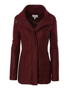 LE3NO Womens Fleece Military Zip Up Pea Coat Jacket with Pockets LE3NO http://www.amazon.com/dp/B00RC96LK0/ref=cm_sw_r_pi_dp_L8QRub1XW3ACS
