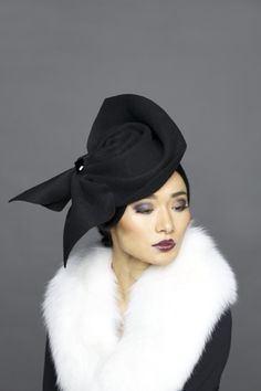 Lock & Co Hatters, Couture Millinery A/W 2013  - Bessie Love. #passion4hats